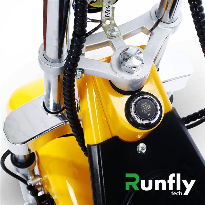 Double Removealbel Battery System 12inch Aluminium Alloy Rims