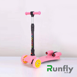 RUNSCOOTERS 3 wheels kids spray smoking fire scootersRS-FSC01-12