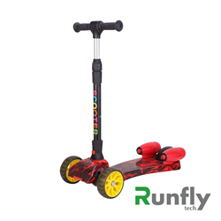 RUNSCOOTERS 3 wheels kids spray smoking fire scootersRS-FSC01-14